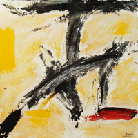 Polansky Art - Acrylic Painting  #37, Signature, 2008, acrylic on board, 100 x 100 cm