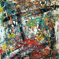 Polansky Art - Acrylic Painting   #46, Hanibal, 2008, acrylic on board, 50 x 60 cm, (Private collection)
